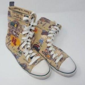 Harajuku Lovers Gwen Stefani High Top Sneakers 7